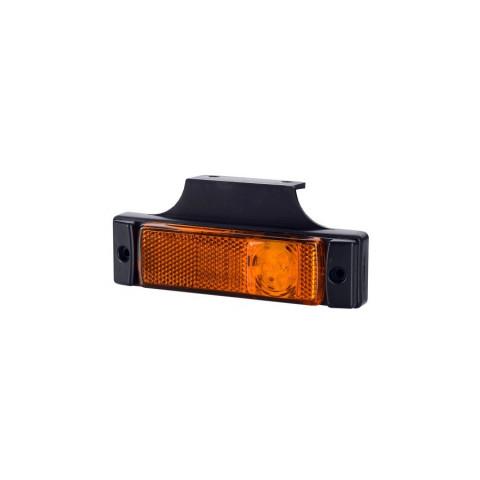 Lampa LED obrysowa odblask pomarańczowa (LD128)