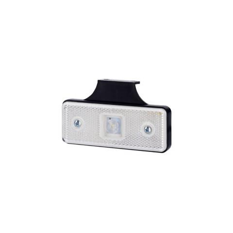 Lampa LED obrysowa z wieszakiem biała (LD160)