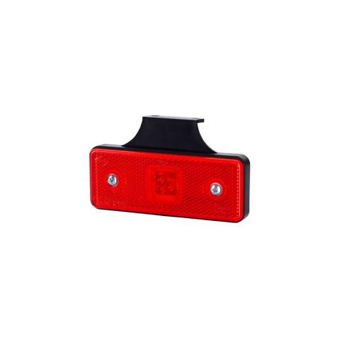 Lampa LED obrysowa z wieszakiem czerwona (LD162)