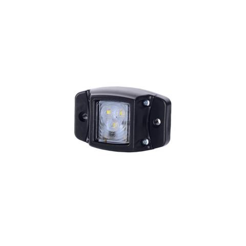 Lampa LED obrysowa podst. gumowa biała (LD437)