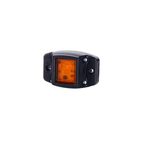 Lampa LED obrysowa p. gumowa pomarańczowa (LD439)