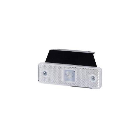 Lampa LED obrysowa biała z wieszakiem (LD499)