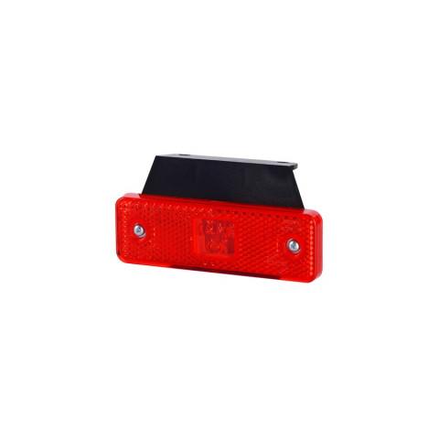 Lampa LED obrysowa czerwona z wieszakiem (LD501)