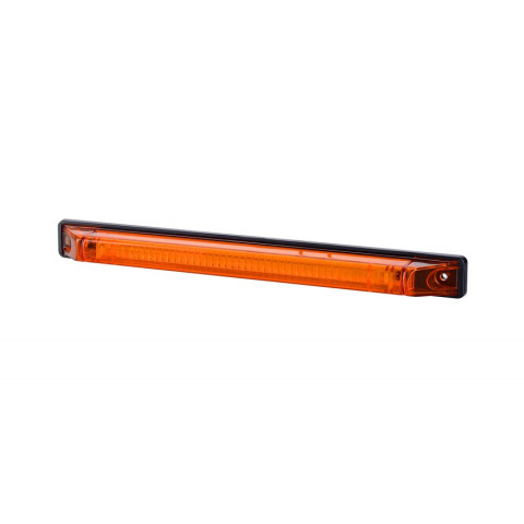 Lampa LED obrysowa poz. długa pomarańczowa (LD562)