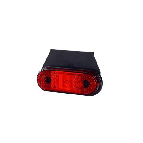Lampa LED obrysowa czerwona wisząca (LD625)