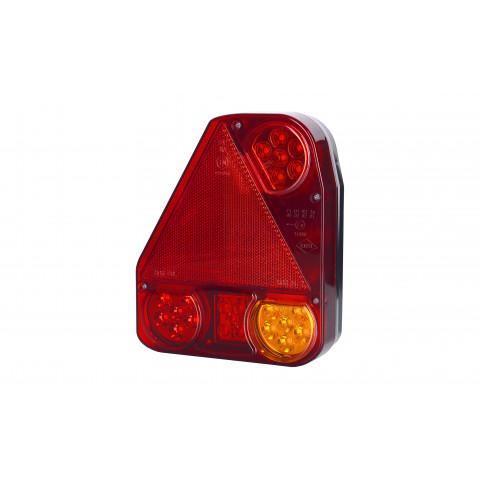 Lampa LED zespolona tylna trójkąt LEWA (LZD776)