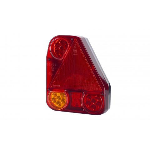 Lampa LED zespolona tylna trójkąt PRAWA (LZD778)