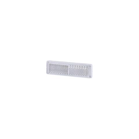 Odblask przyklejany biały 69x19 (UO087)