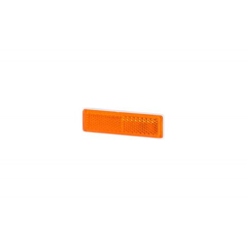 Odblask przyklejany żółty 69x19 (UO088)