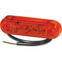 Lampa LED obrysowa tylna PRO-SLIM 24V 40044002