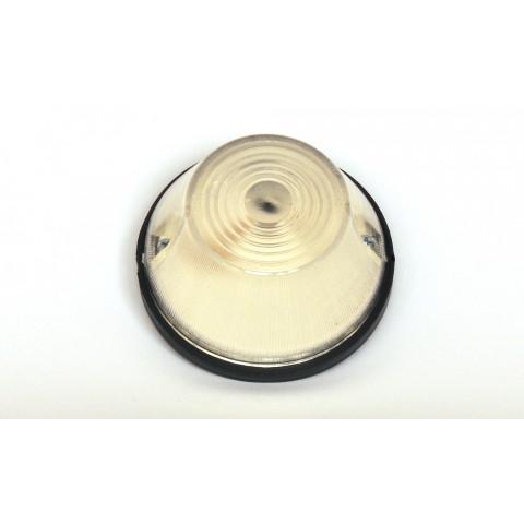 Lampa pozycyjna przednia biała okrągła (12)