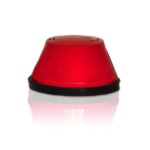 Lampa pozycyjna tylna czerwona okrągła (13)