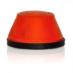 Direction indicator lamp round amber (14)