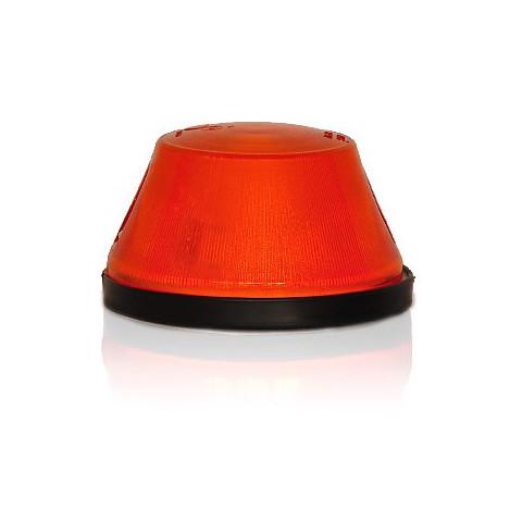 Lampa pozycyjna boczna pomarańczowa okrągła (14)