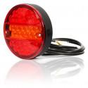 Lampa LED zespolona tylna 3 funkcje W19D (288)