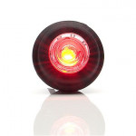 LED rear end-outline lamp round red W74.3 (669)