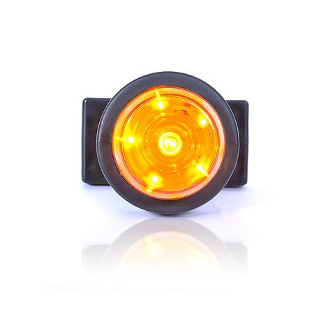 LED side position lamp round yellow W74.3 (546kr)