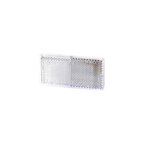 Odblask samoprzylepny biały 44x94 (UO029)