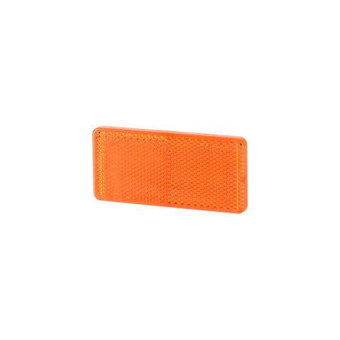 Reflective adhesive device amber 44x94 (UO030)