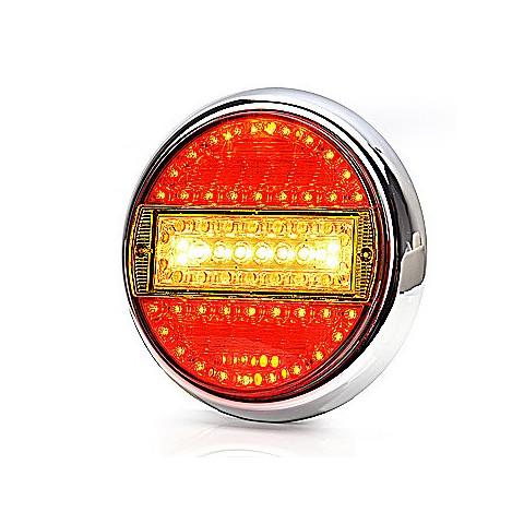 Lampa LED zespolona tylna 5 funkcji WAŚ (758)