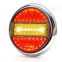 Multifunctional rear LED lamp 5 functions (758)