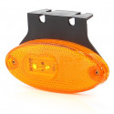 Lampa LED pozycyjna boczna owalna żółta (308Z)