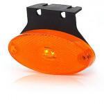 Lampa LED pozycyjna boczna owalna żółta (305Z)