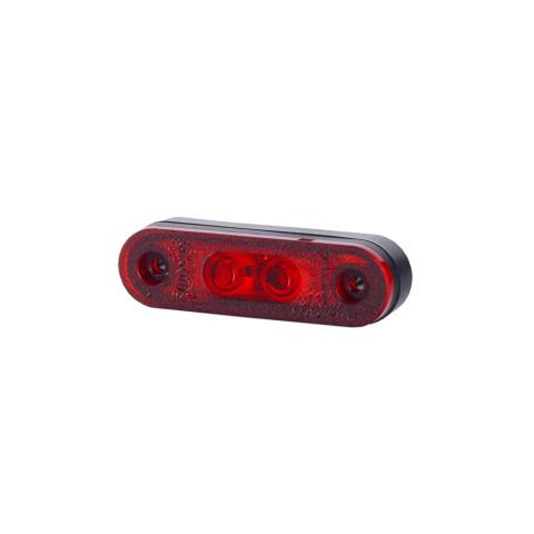 Lampa LED pozycyjna czerwona z podkładkami (LD956)