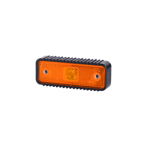 Lampa LED obrysowa pomarańczowa podkładka (LD538)