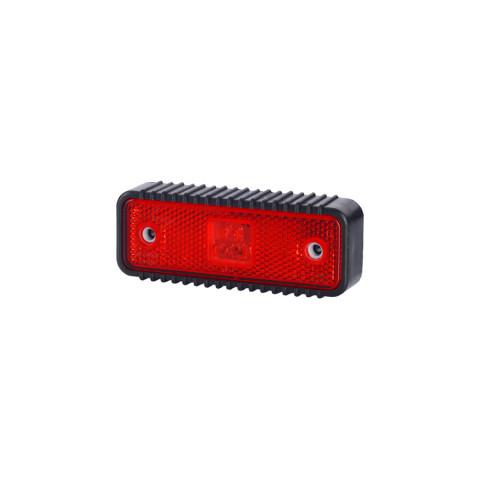 Lampa LED obrysowa czerwona podkładka (LD539)