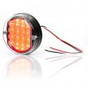 LED rear fog lamp round W31 (169)