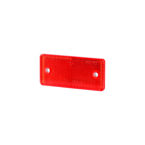 Reflective device with holes 44x94 red (UO028)