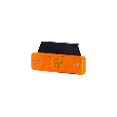 Lampa LED obrysowa pomarańczowa wieszak (LD500)