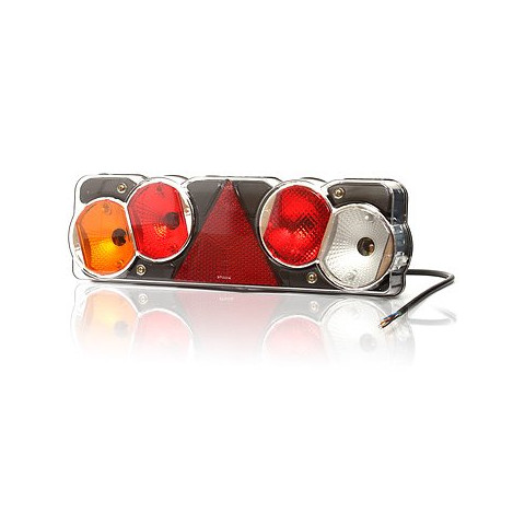 Multifunctional rear lamp 6 functions LEFT (248)