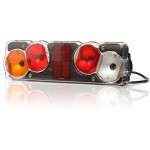 Multifunctional rear lamp 7 functions 12V LEFT (254)