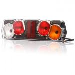 Multifunctional rear lamp 6 functions 12V or 24V RIGHT (256)
