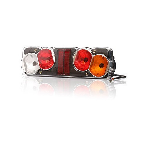 Multifunctional rear lamp 6 functions 12V or 24V RIGHT (256)