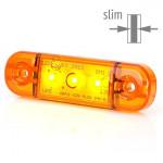 Lampa LED pozycyjna boczna żółta 3LED (708)