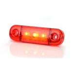 Lampa LED pozycyjna tylna czerwona 3LED (709)