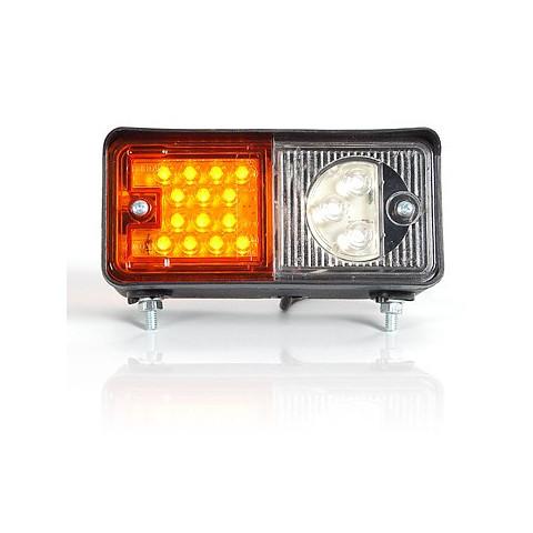 Lampa LED zespolona przednia URSUS LEWA (489)
