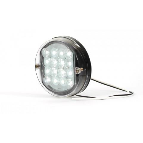 Lampa LED cofania okrągła W33 (172)