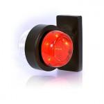 Lampa LED obrysowa przednio-tylna krótka (544BCII)