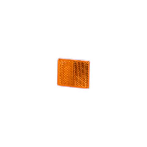 Reflective device self-adhesive 38x47 amber (UO235)