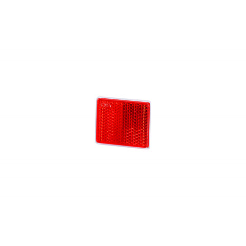 Reflective device self-adhesive 38x47 red (UO236)