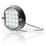 Lampa LED cofania okrągła W33 (173)