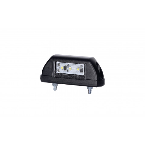 LED number plate lamp black (LTD702)