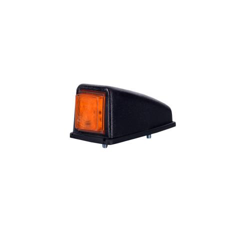 Lampa LED obrysowa narożna ozdobna żółta (LD222)