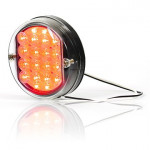 LED brake STOP lamp round W35 (177)
