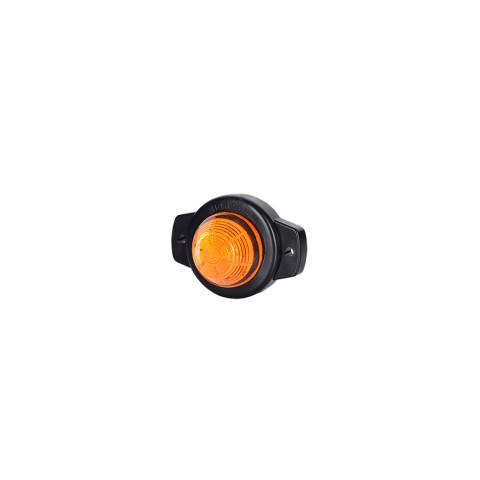 Lampa LED ozdobna pomarańczowa okrągła (LD508)