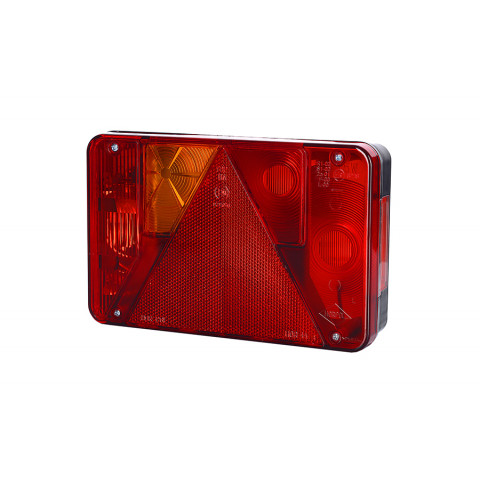 Multifunctional rear lamp with triangle 6 functions LEFT (LZT471)